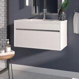 Margret 36 Wall-Mounted Single Bathroom Vanity Set by Orren Ellis