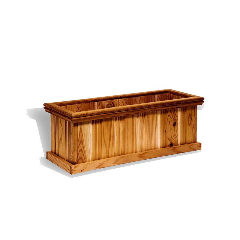 Great Lakes Outdoor Living Grande Patio Cedar Planter Box