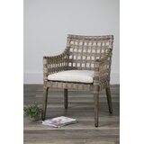 Armed Wicker & Rattan Kitchen & Dining Chairs You\'ll Love in ...