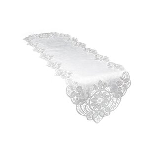 Christofer Lace Embroidered Cutwork Table Runner