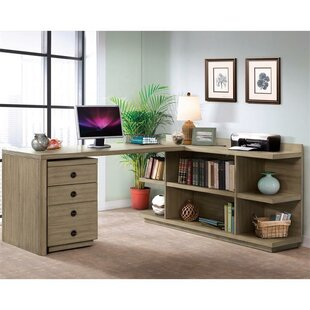 Arbyrd 4 Piece L-Shaped Desk Office Suite by Greyleigh