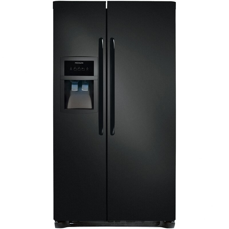 side by 24 5 cu ft side by side with ice maker