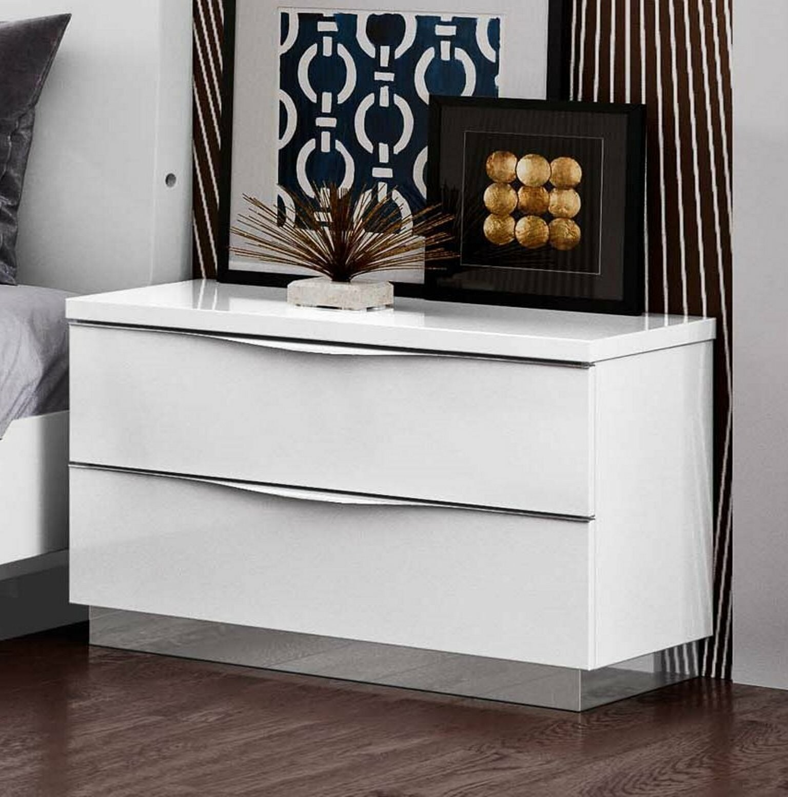 Guion 2 Drawer Nightstand