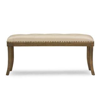 Baxton Studio Damien Faux Leather Bench by Wholesale Interiors