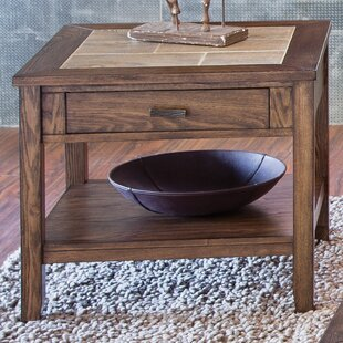 East Pleasant View End Table by Loon Peak