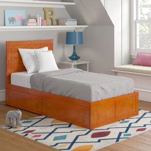 Maryanne Extra Long Twin Platform Bed with Drawers