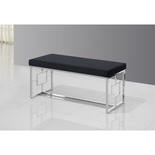 Cecily Metal Bench by Mercer41 Today Only Sale