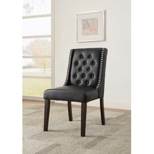 Knuth Upholstered Dining Chair (Set of 2)