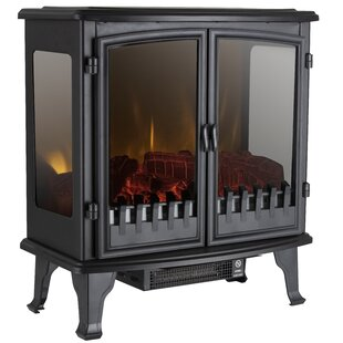 Panoramic Double Door Electric Stove By Warmlite
