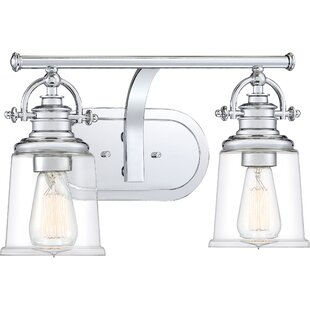 Best Reviews Attles 2-Light Vanity Light By Darby Home Co