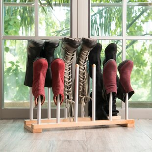 Best Choices Rack Organizer 6 Pair Boot Storage By Rebrilliant