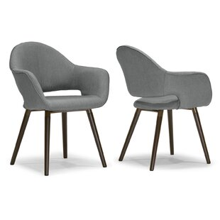 Adel Upholstered Dining Chair (Set of 2) Glamour Home Decor