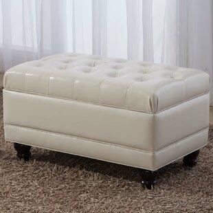 Castillian Upholstered Storage Bench by NOYA USA