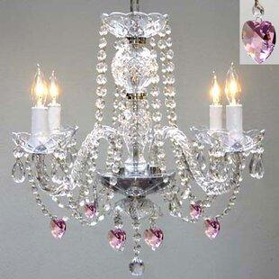 House of Hampton Kepley 4-Light Candle Style Chandelier