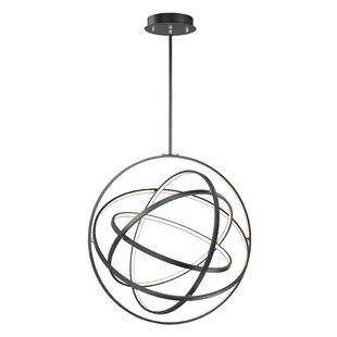 Orren Ellis Eckles 5-Light LED Globe Pendant