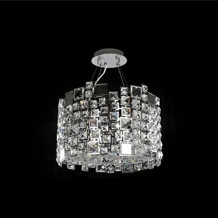 Dolo 4-Light Semi-Flush Mount by Allegri by Kalco Lighting