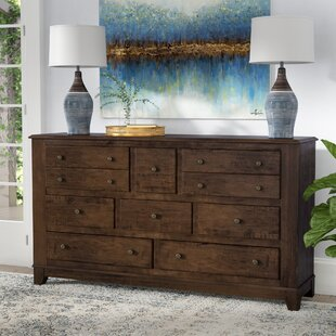 Millwood Pines Lando 8 Drawer Dresser