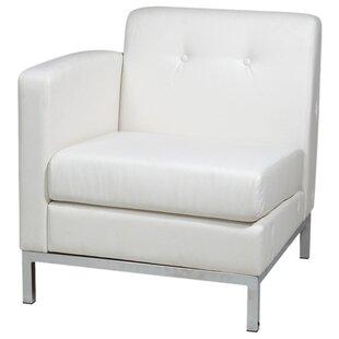 Wade Logan Buschwick Leather Lounge Chair