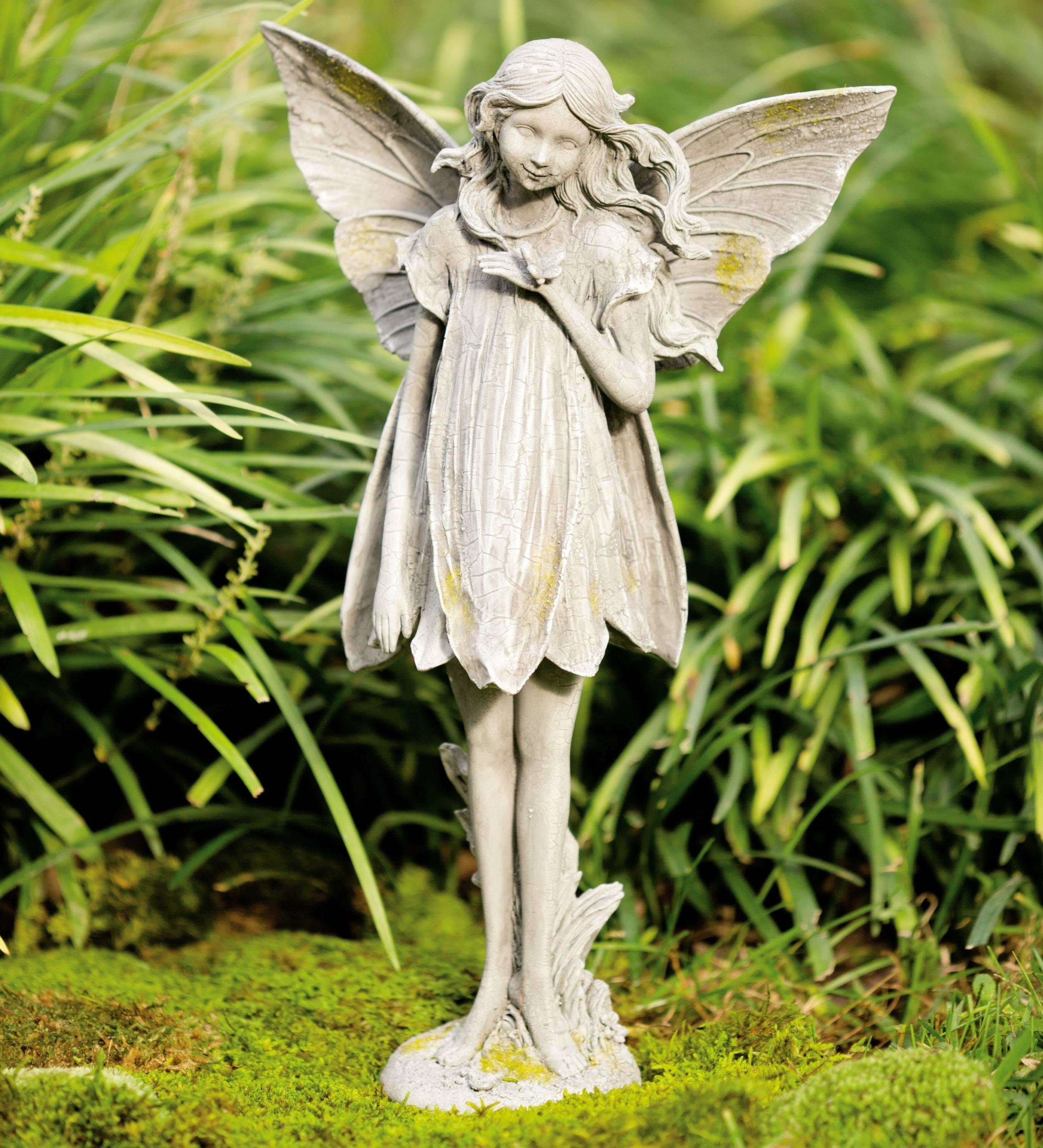 Attrayant Wind U0026 Weather Fairy Garden Statue U0026 Reviews | Wayfair