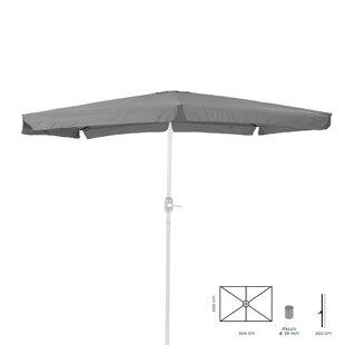 Edward 3m X 2m Rectangular Traditional Parasol By Freeport Park