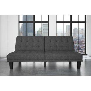 Buying Haysi Futon Lounger Convertible Sofa by Wade Logan Reviews (2019) & Buyer's Guide