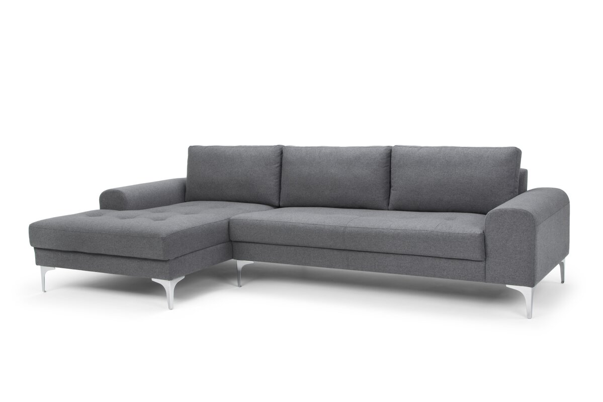 Iroh Modular Sectional Sofa  sc 1 st  Joss u0026 Main : gray sectional sofa - Sectionals, Sofas & Couches