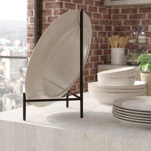 Graphite Metal Plate Rack & Plate Rack | Wayfair