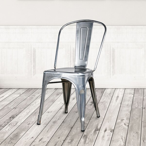Industrial Metal Chair Wayfair
