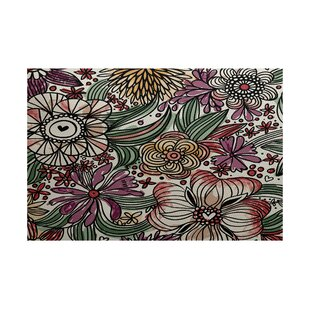 Read Reviews Natahsa Purple Indoor/Outdoor Area Rug By Latitude Run