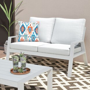 Ivy Bronx Alexis Loveseat with Cushions