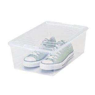 High-End 13.5 Quart Mens Shoe Storage Box ByIRIS USA, Inc.