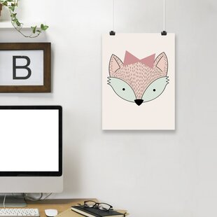 'Fox' Paper Print By East Urban Home