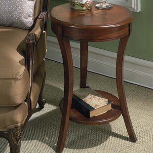 Alcott Hill Lambright Plantation Cherry End Table