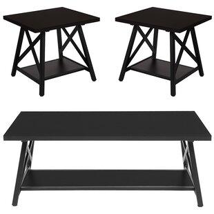 Winston Porter St George 3 Piece Coffee Table Set