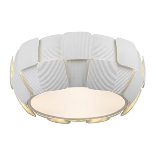 Wade Logan Chadstone 4-Light Flush Mount
