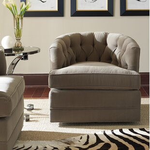 Barclay Butera Cliffhaven Swivel Barrel Chair