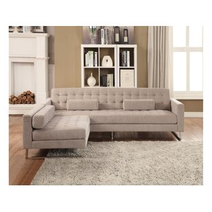 Porter Buttonless Tufted Sofa and Chaise