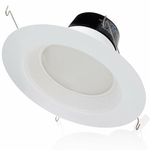 Sunco Lighting 13W Baffle LED Retrofit Downlight (Set of 6)