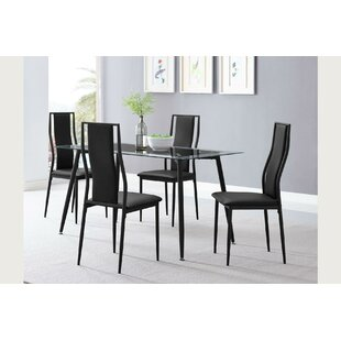 Arvizu 5 Piece Dining Set by Orren Ellis