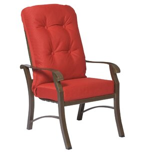 Cortland High Back Patio Dining Chair With Cushion