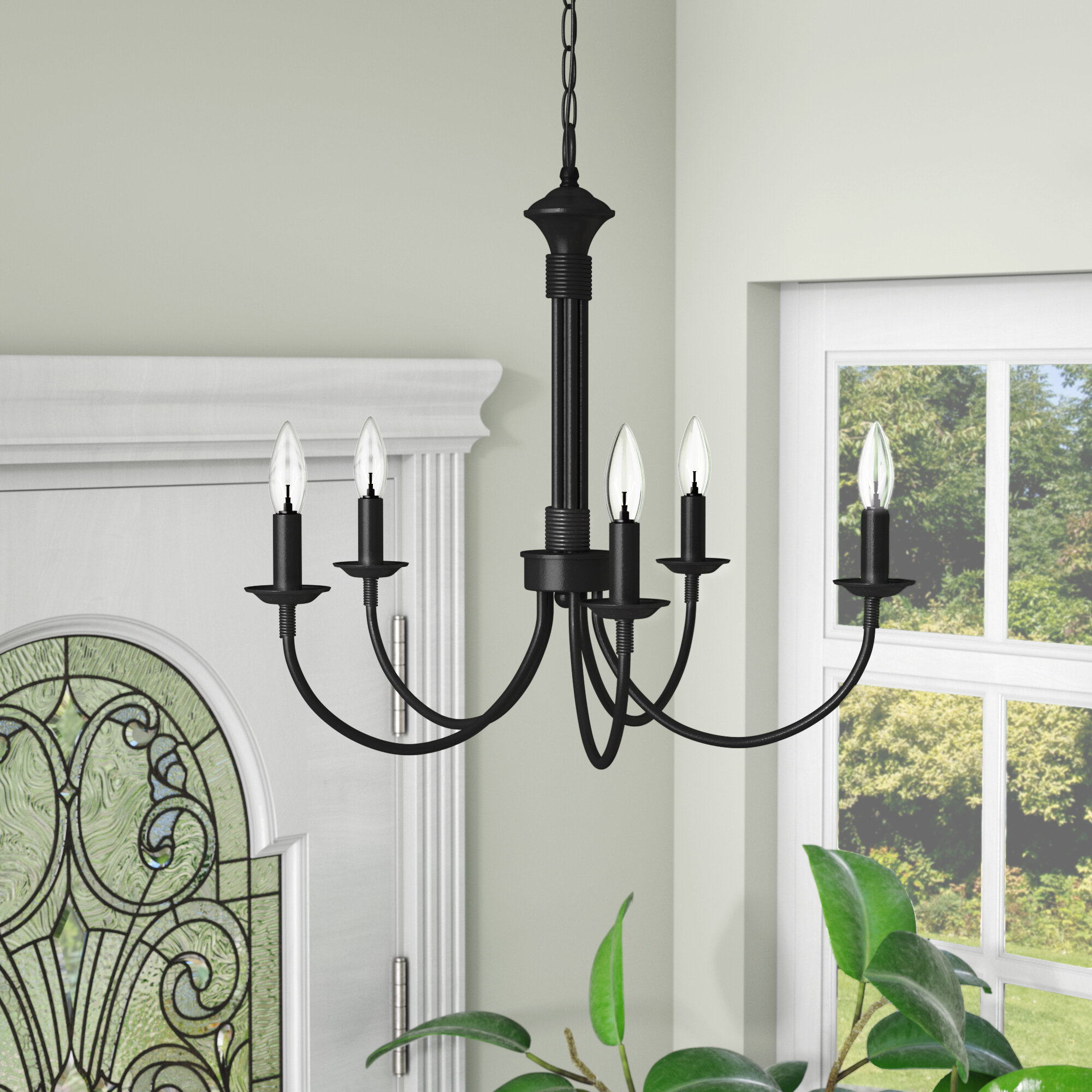 Laurel Foundry Modern Farmhouse Shaylee 5 Light Candle Style Empire Chandelier Reviews Wayfair