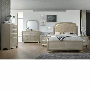 Mcpherson Queen Panel 5 Piece Bedroom Set by House of Hampton Herry Up