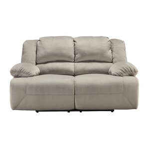 Tolette Reclining Loveseat by Signature Desi..