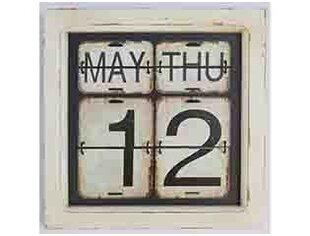 Metal Perpetual Wall Calendar Wayfair