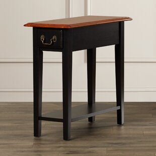 Revere Broomhedge End Table With Storage by Alcott Hill