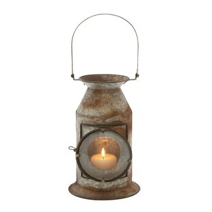 Hartshorne Metal and Glass Lantern