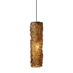 Chaisson 1-Light Cylinder Pendant by Fleur De Lis Living