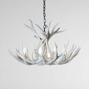 Loon Peak Alexus Mule Deer 6-Light Chandelier