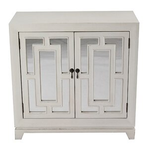 Narberth 2 Door Wood Cabinet with Mirror