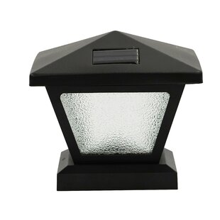 August Grove Randazzo Solar 1-Light LED Lantern Head
